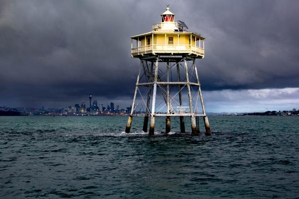 Bean Rock Lighthouse, Auckland. by sandwedge
