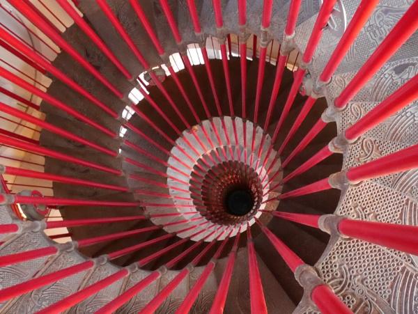 Lublijana staircase by GPWalker