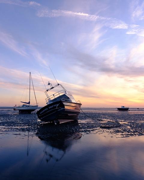 Seaside sunset by iNKFIEND