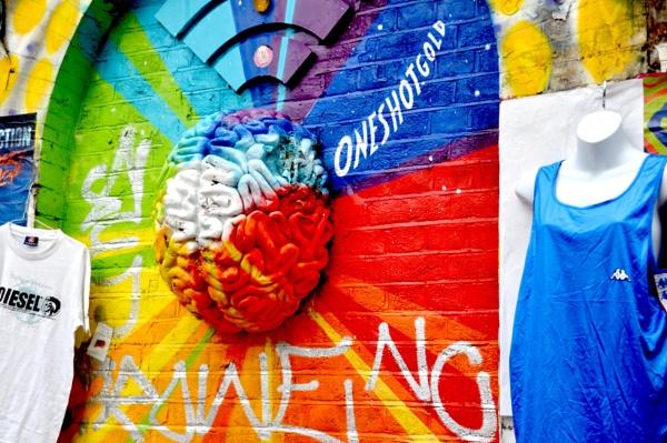 Strangeness on the wall... by Chinga