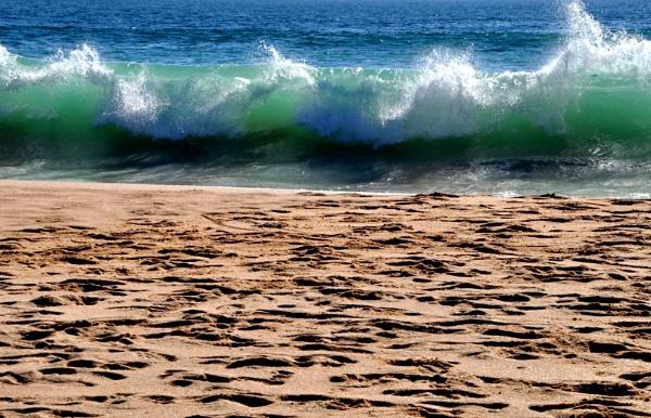 On the beach... by Chinga