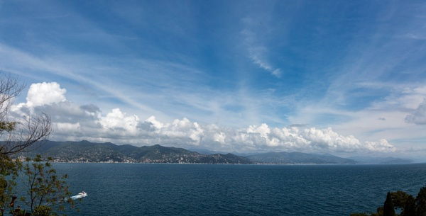 Seascape with dramatic sky and clouds by rninov