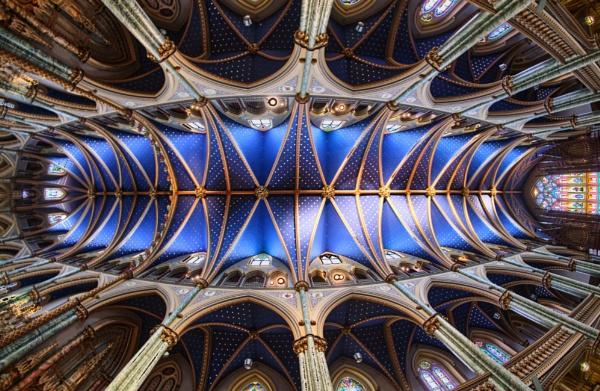 Notre Dame Basilica, Ottawa by Uenocats