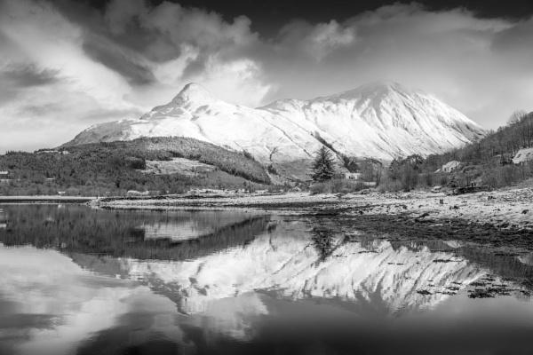 Mountain Reflection by Billdad