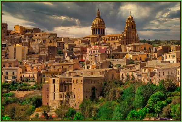 Ragusa Ibla ----- \'\'Mother Church--- The Duomo of San Giorgio\'\' by Edcat55