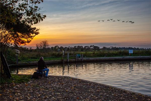 Evening Fishing by blrphotos