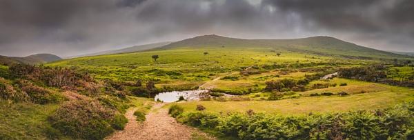 A Panoramic Dartmoor by JohnDyer