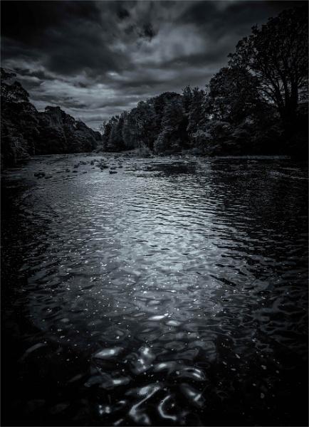Tees at twilight by KingBee