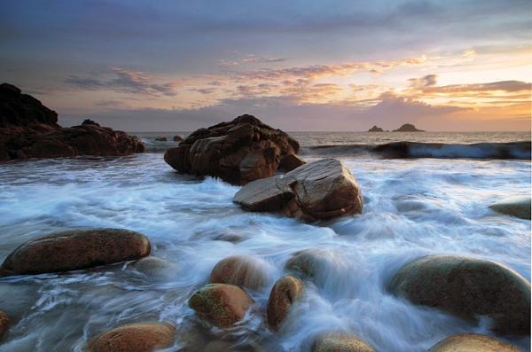 Cape Cornwall Waves. by Buffalo_Tom