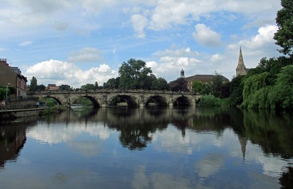 English Bridge by Hurstbourne