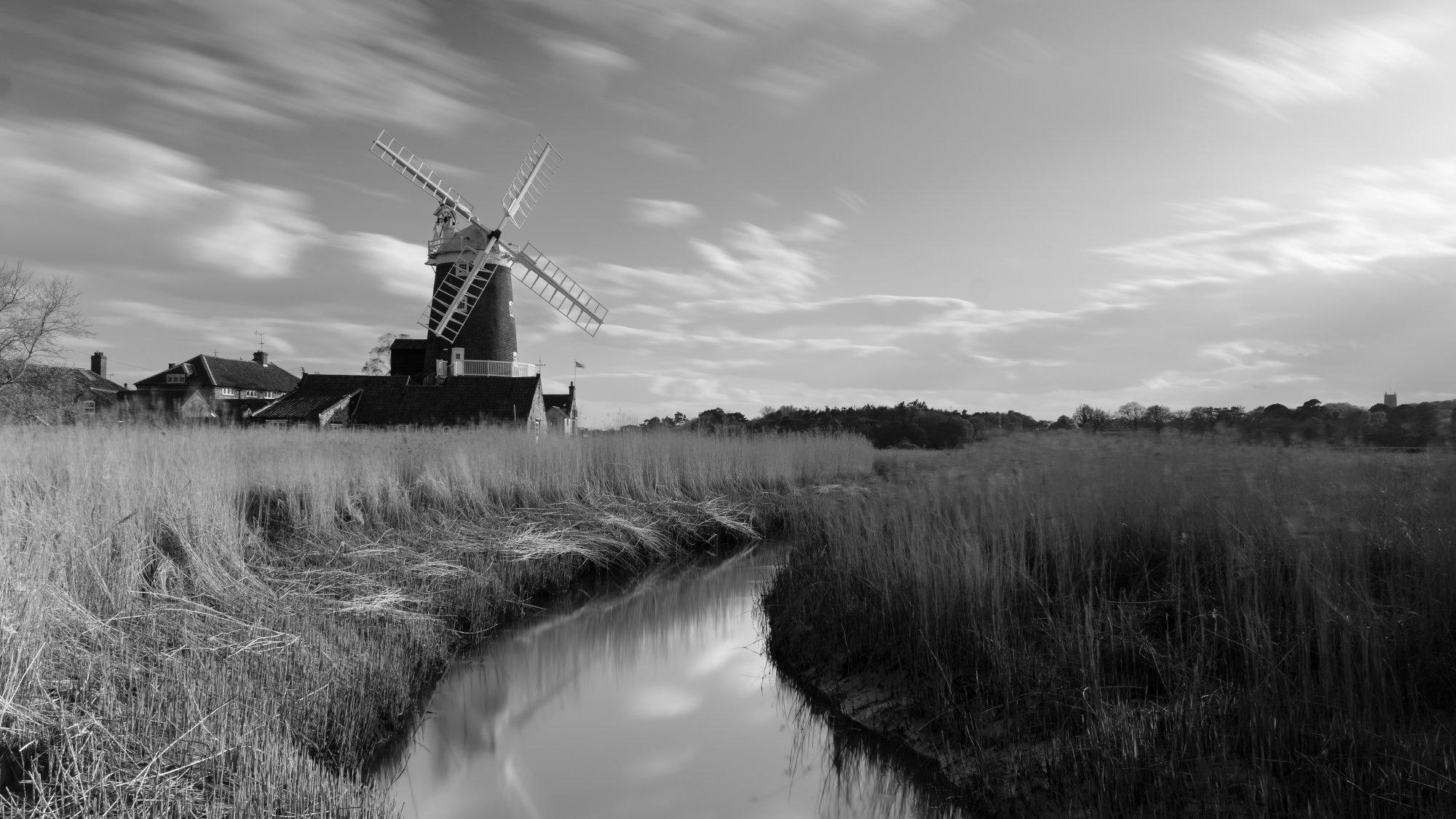 Cley windmill mono