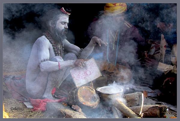 SADHUS, HINDU HOLY MEN & WOMEN OF INDIA(8) by debu