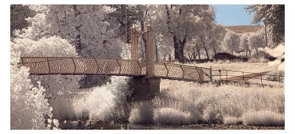 Footbridge - Peebles by kaybee