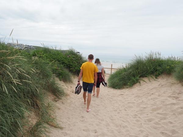 Down to the Beach by caj26