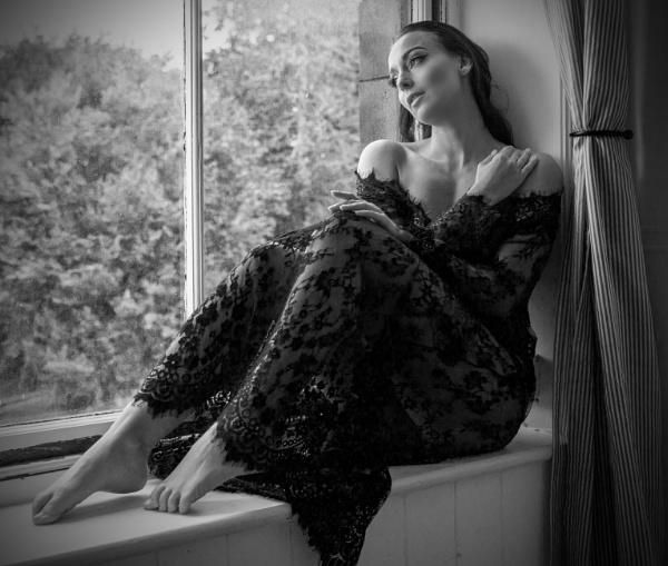 Marie in a Window by TheShaker