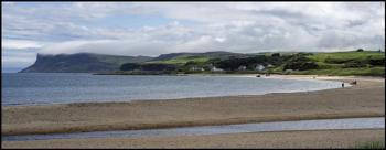 Ballycastle Strand, North Antrim Coast, Northern Ireland