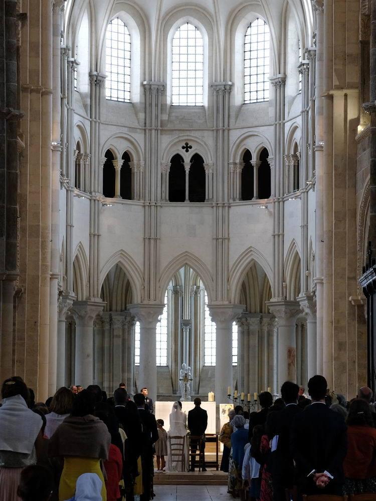 wedding in Vezelay