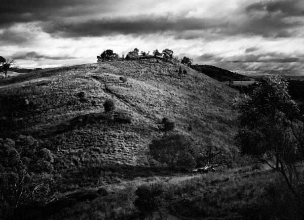 Winter Storm Approaching, Urambi Hills by BobinAus
