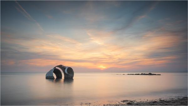 Marys Shell at Sunset by Leedslass1
