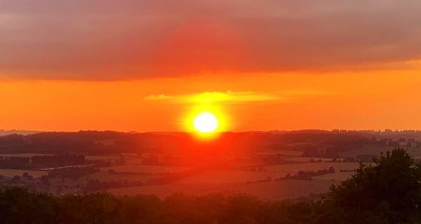A Northumberland sunset by NorthernWayfarer