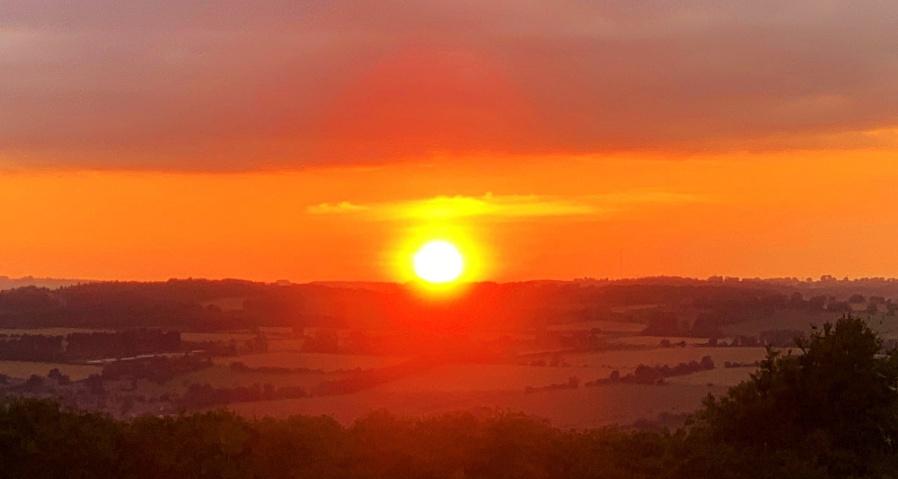 A Northumberland sunset