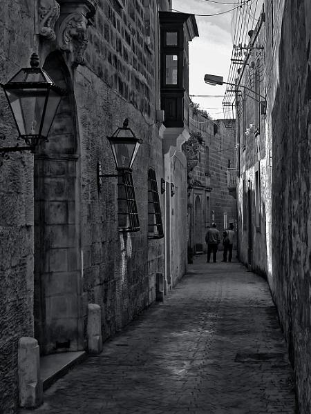 An Alley in Zebbug by Xandru