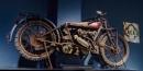 Old ACU trials motor bike