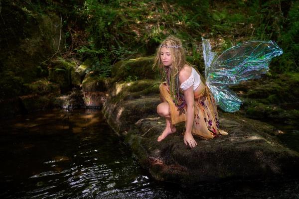 Woodland Fairy by sunsetskydancer