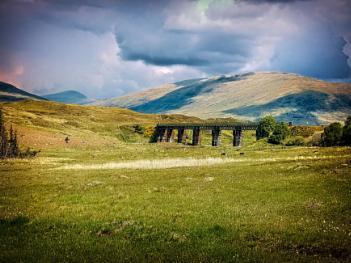 West Highland Railway at Rannoch
