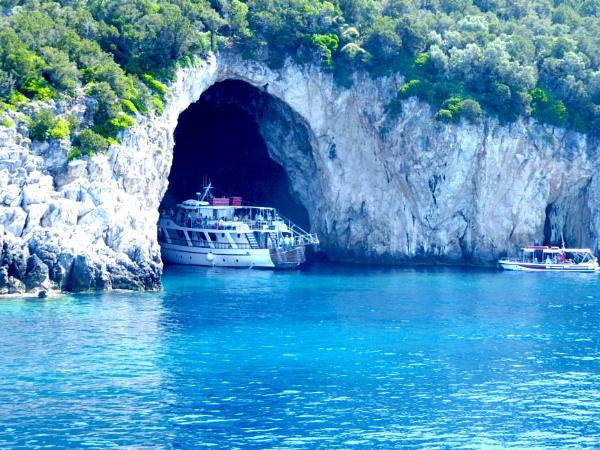 The Greek azure... by Chinga