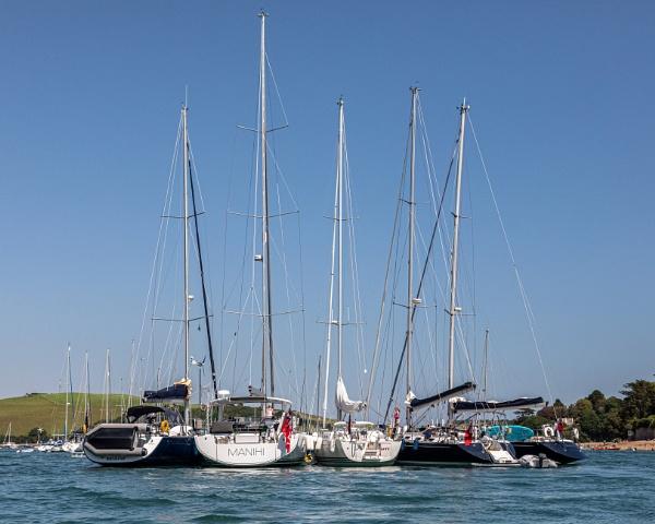 Masts, Motors and Paddle Power by DicksPics