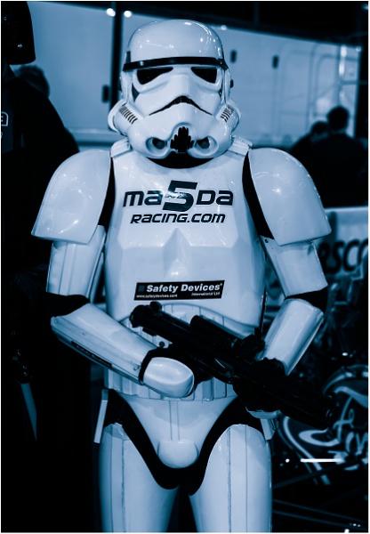 Sunday Stormtrooper by dark_lord