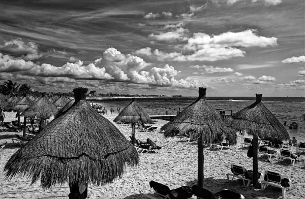 Caribbean Sea, Yucatan Peninsula, Mexico by pdunstan_Greymoon