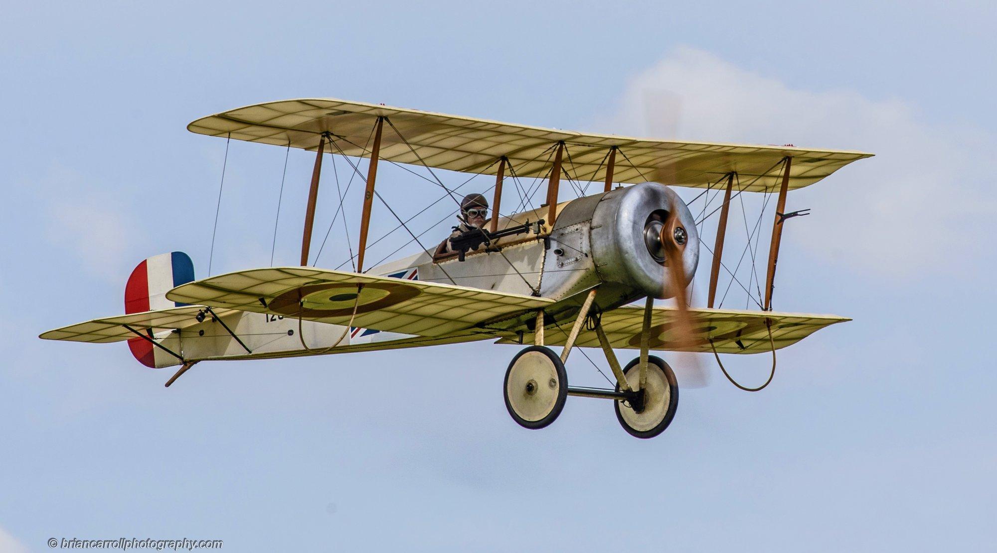 1913 Bristol Scout biplane