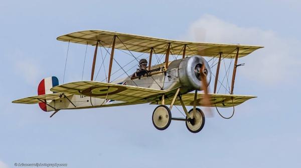 1913 Bristol Scout biplane by brian17302