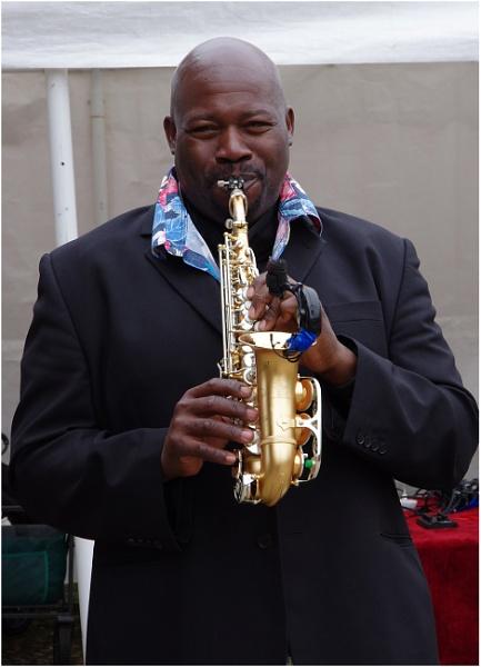 Big Man, Small Sax by johnriley1uk