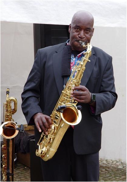 Big Man, Big Sax by johnriley1uk
