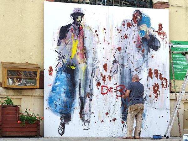 final brushwork....   paul Bloas, Lormes festival 7/8 by jeakmalt