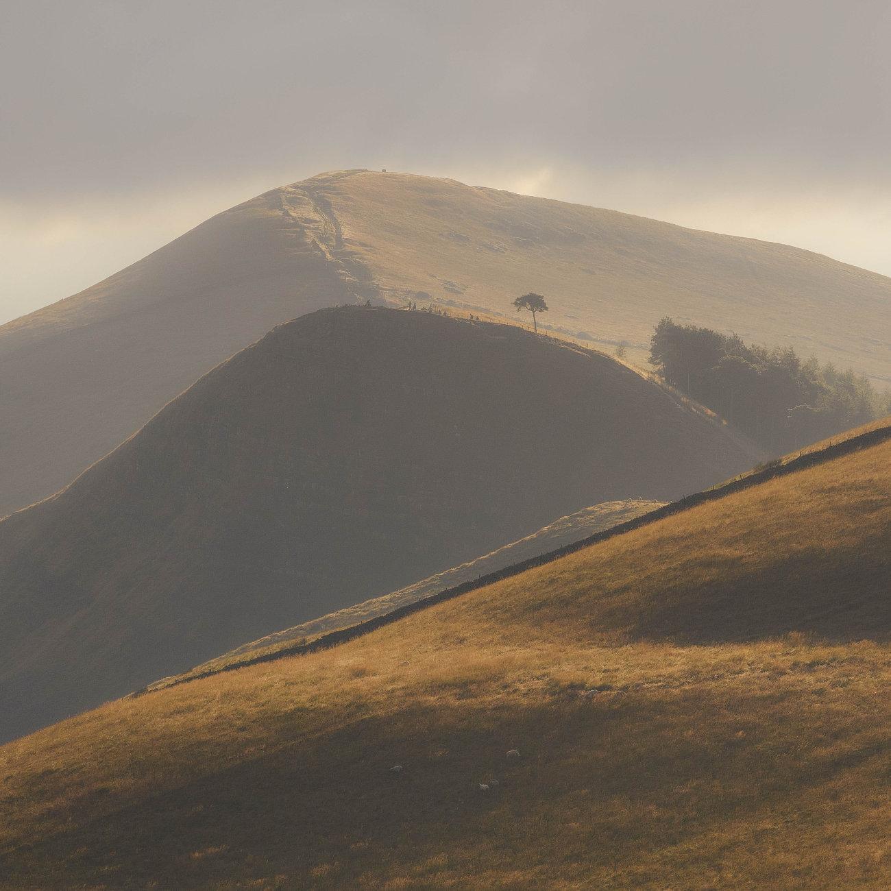 The Great Ridge, Peak District.