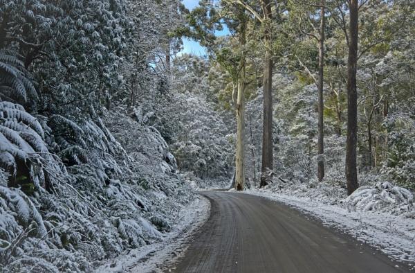Blesington mountain road by pax2u2