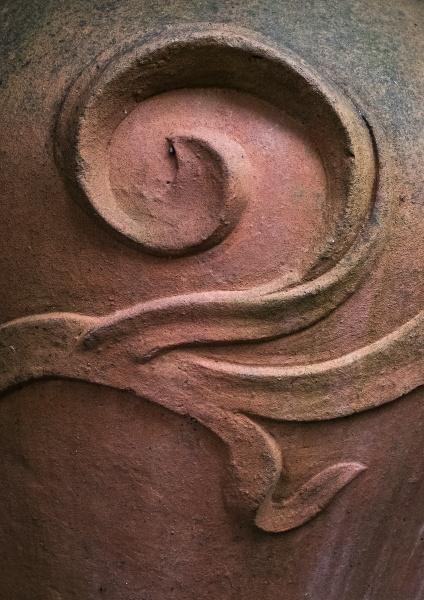 Terracotta Detail by AlfieK
