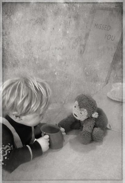 Alex and Monkey by MAK2