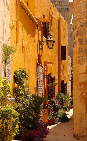 Sun lit alley by elzame2