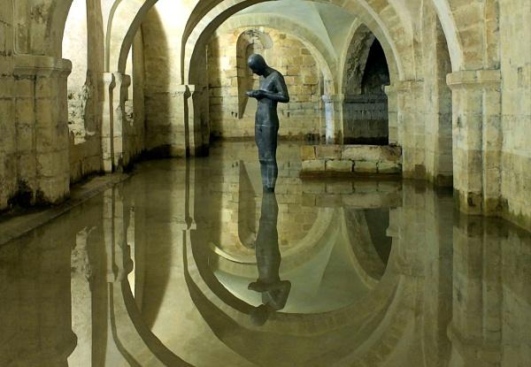 Gormley Statue by pamelajean