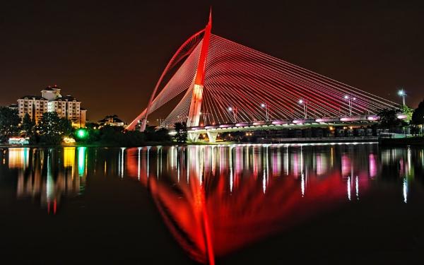 Seri Wawasan Bridge Putrajaya by sawsengee