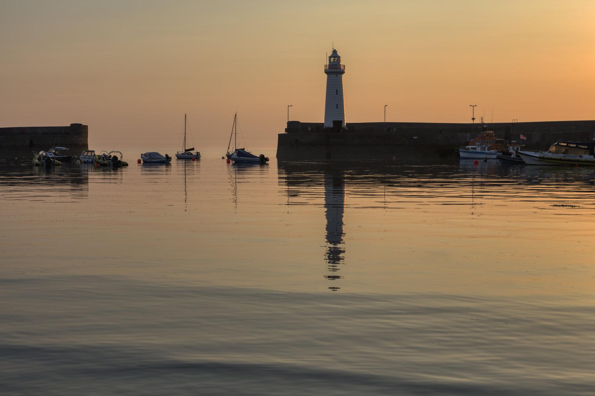 Sunrise at Donaghadee Harbour