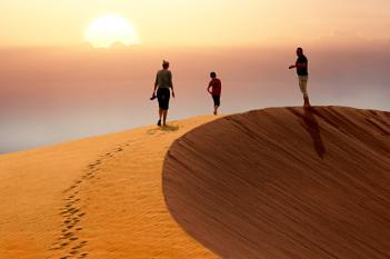Dune Climbing
