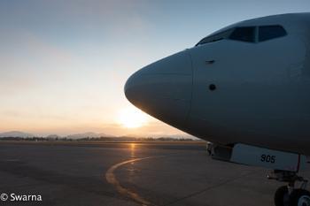 Early Morning Flight...
