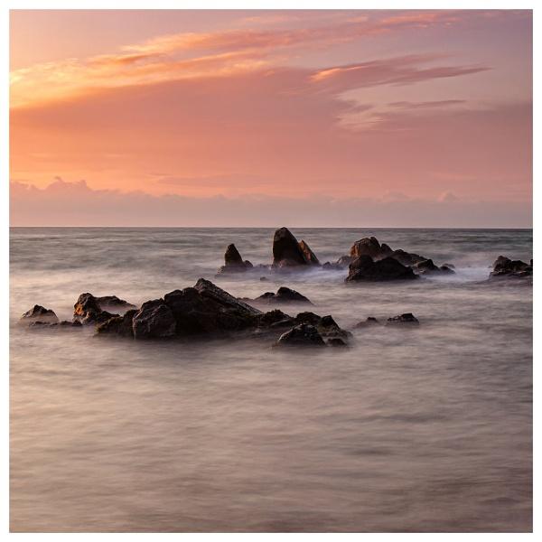 Sunrise Rocks by happysnapper