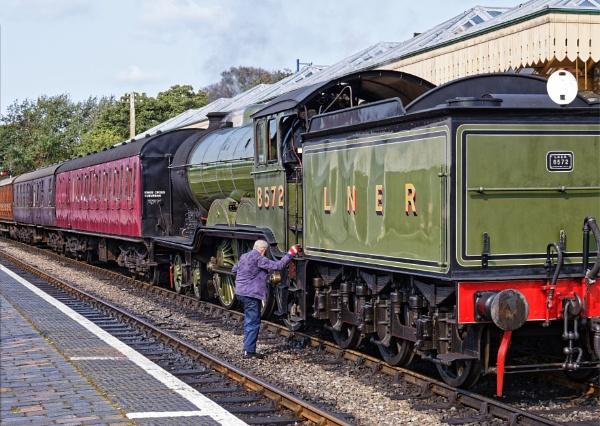 Steam railway Sheringham by pdunstan_Greymoon
